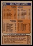 1976 Topps #475   49ers Team Checklist Back Thumbnail