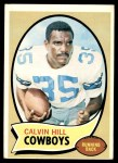 1970 Topps #260 RED Calvin Hill   Front Thumbnail