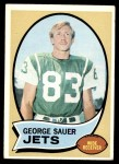 1970 Topps #176  George Sauer  Front Thumbnail