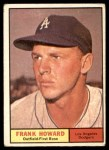 1961 Topps #280  Frank Howard  Front Thumbnail