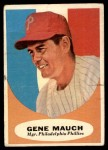 1961 Topps #219  Gene Mauch  Front Thumbnail