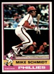 1976 Topps #480  Mike Schmidt  Front Thumbnail