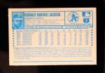 1974 Kellogg's #20  Reggie Jackson  Back Thumbnail