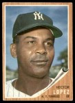 1962 Topps #502  Hector Lopez  Front Thumbnail