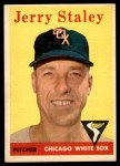 1958 Topps #412  Jerry Staley  Front Thumbnail