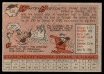 1958 Topps #438  Whitey Herzog  Back Thumbnail