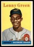 1958 Topps #471  Lenny Green  Front Thumbnail