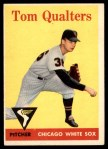1958 Topps #453  Tom Qualters  Front Thumbnail