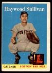 1958 Topps #197  Haywood Sullivan  Front Thumbnail