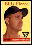 1958 Topps #50 WT Bill Pierce  Front Thumbnail