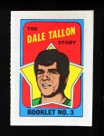 1971 Topps O-Pee-Chee Booklets #3  Dale Tallon  Front Thumbnail