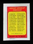 1971 Topps O-Pee-Chee Booklets #2  Phil Esposito  Back Thumbnail