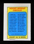 1971 Topps O-Pee-Chee Booklets #17  Ken Dryden  Back Thumbnail