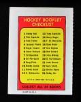 1971 Topps O-Pee-Chee Booklets #18  Rod Gilbert  Back Thumbnail