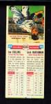 1955 Topps DoubleHeader #65 / 66 -  Joe Collins / Jack Harshman  Back Thumbnail