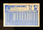 1976 Kellogg's #48  Rod Carew  Back Thumbnail