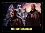 1964 Topps / Bubbles Inc Outer Limits #44   The Subterraneans  Front Thumbnail
