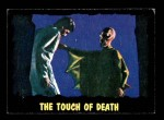 1964 Topps / Bubbles Inc Outer Limits #40   The Touch of Death  Front Thumbnail