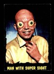 1964 Topps / Bubbles Inc Outer Limits #16   Man with Super Sight Front Thumbnail