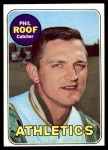 1969 Topps #334  Phil Roof  Front Thumbnail
