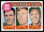 1969 Topps #628   -  Billy Conigliaro / Syd O'Brien / Fred Wenz Red Sox Rookies Front Thumbnail