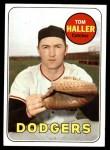1969 Topps #310  Tom Haller  Front Thumbnail