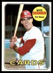 1969 Topps #110  Mike Shannon  Front Thumbnail