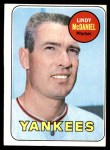 1969 Topps #191  Lindy McDaniel  Front Thumbnail