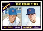 1966 Topps #534   -  Dave Eilers / Rob Gardner Mets Rookies Front Thumbnail