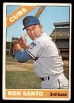 1966 Topps #290  Ron Santo  Front Thumbnail