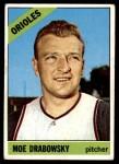 1966 Topps #291  Moe Drabowsky  Front Thumbnail