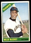 1966 Topps #550  Willie McCovey  Front Thumbnail