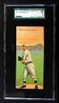 1911 T201 Mecca  Fred Merkle / Hooks Wiltse  Front Thumbnail