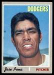 1970 Topps #523  Jose Pena  Front Thumbnail