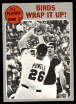 1970 Topps #201   -  Boog Powell / Andy Etchebarren 1969 AL Playoff - Game 3 - Birds Wrap it Up Front Thumbnail
