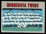 1970 Topps #534   Twins Team Front Thumbnail