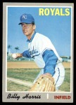 1970 Topps #512  Billy Harris  Front Thumbnail