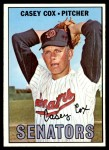 1967 Topps #414  Casey Cox  Front Thumbnail