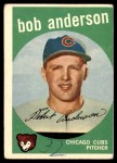1959 Topps #447  Bob Anderson  Front Thumbnail