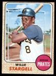 1968 Topps #86  Willie Stargell  Front Thumbnail