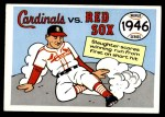 1970 Fleer World Series #43   -  Enos Slaughter 1946 Cardinals vs. Red Sox   Front Thumbnail