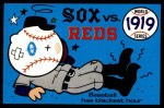 1970 Fleer World Series #16   1919 Reds vs. White Sox  Front Thumbnail