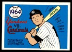 1970 Fleer World Series #61   -  Bobby Richardson 1964 Cardinals vs. Yankees   Front Thumbnail