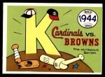 1970 Fleer World Series #41   1944 Cardinals vs. Browns Front Thumbnail