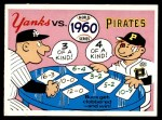 1970 Fleer World Series #57   1960 Pirates vs. Yankees Front Thumbnail