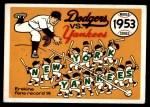 1970 Fleer World Series #50   -  Carl Erskine 1953 Yankees vs. Dodgers   Front Thumbnail