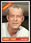 1966 Topps #296  Johnny Keane  Front Thumbnail