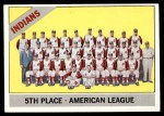 1966 Topps #303 DOT  Indians Team Front Thumbnail