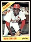1966 Topps #320  Bob Gibson  Front Thumbnail