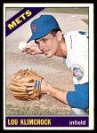1966 Topps #589  Lou Klimchock  Front Thumbnail